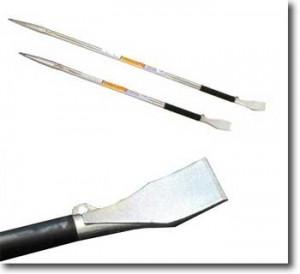 鉄骨鳶の必需品・鉄骨寄せバール(モクバD-23鉄骨寄せバール)